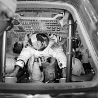 Apollo 15 Crew During Training